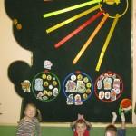 На занятии в детском саду № 2433