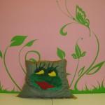 Подушка - лягушка