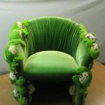Кресло - лягушка, вид спереди