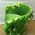 Кресло - лягушка, вид с боку