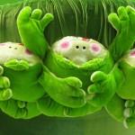 Хоровод лягушек