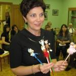 Мастер - класс, Керсон Маргарита (Таллинн, Эстония). Участница - Вахнина Наталья (Москва, Россия)